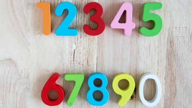 children toy number wood wood background 41905 12